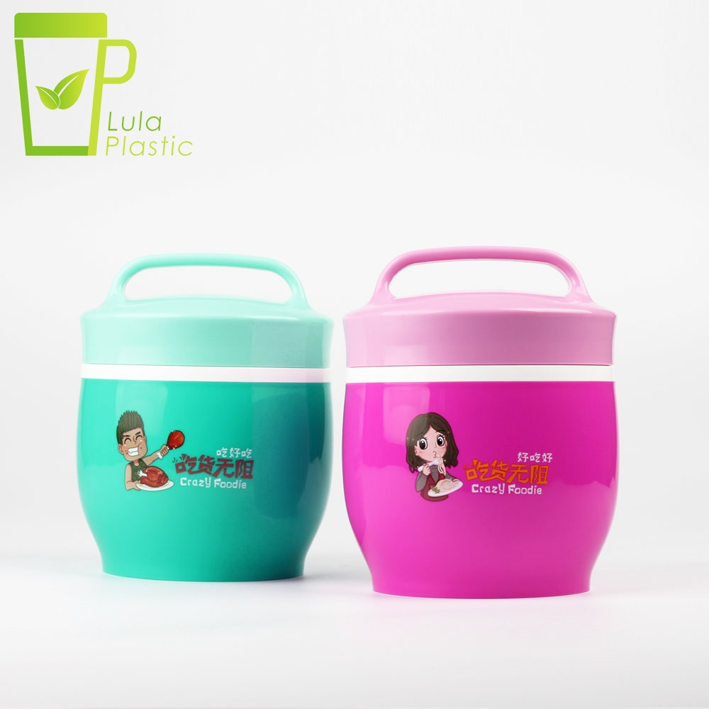 Hot Sale Cute Japanese Thermal Lunch Box LeakProof PP Bento Kids Portable Picnic School Food Con