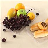 2 sizes Plastic Fast Food Tray For Tea Cake Kitchen Bar Dinnerware European Hotel Long Plate Fruit T