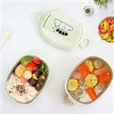 900ml one layer kids insulated stainless steel bento lunch box
